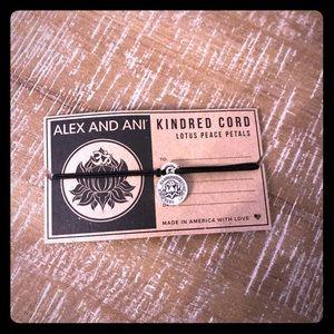 Alex and Ani Kindred Cord Lotus Bracelet